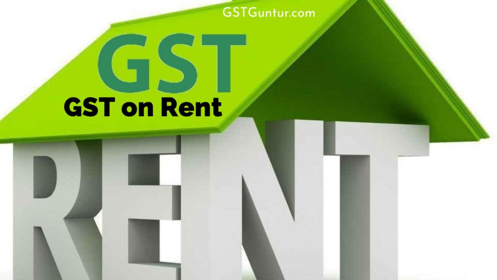 GST on Rent