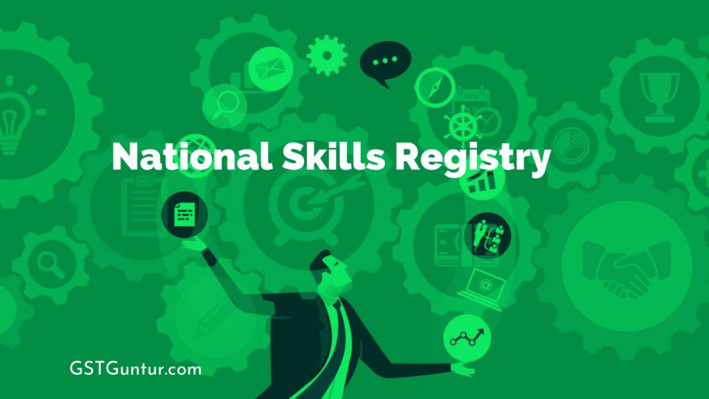 National Skills Registry