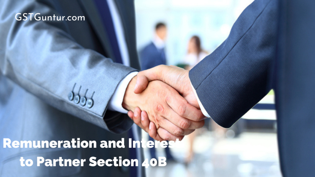 Remuneration and Interest to Partner
