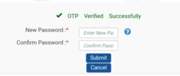 uan password forgot how to reset