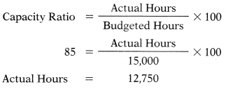 Budgetary Control – Corporate and Management Accounting MCQ 18