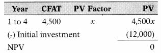 Capital Budgeting – Financial and Strategic Management MCQ 37