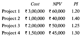 Capital Budgeting – Financial and Strategic Management MCQ 9