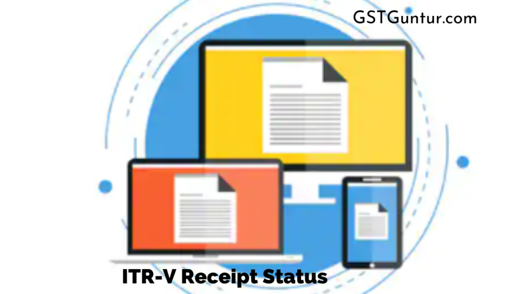 ITR-V Receipt Status