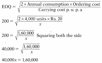 Inventory Management – Financial and Strategic Management MCQ 10