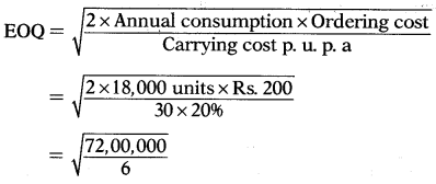 Inventory Management – Financial and Strategic Management MCQ 6