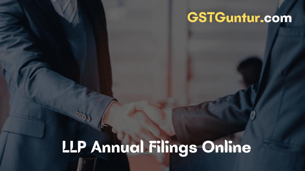 LLP Annual Filing