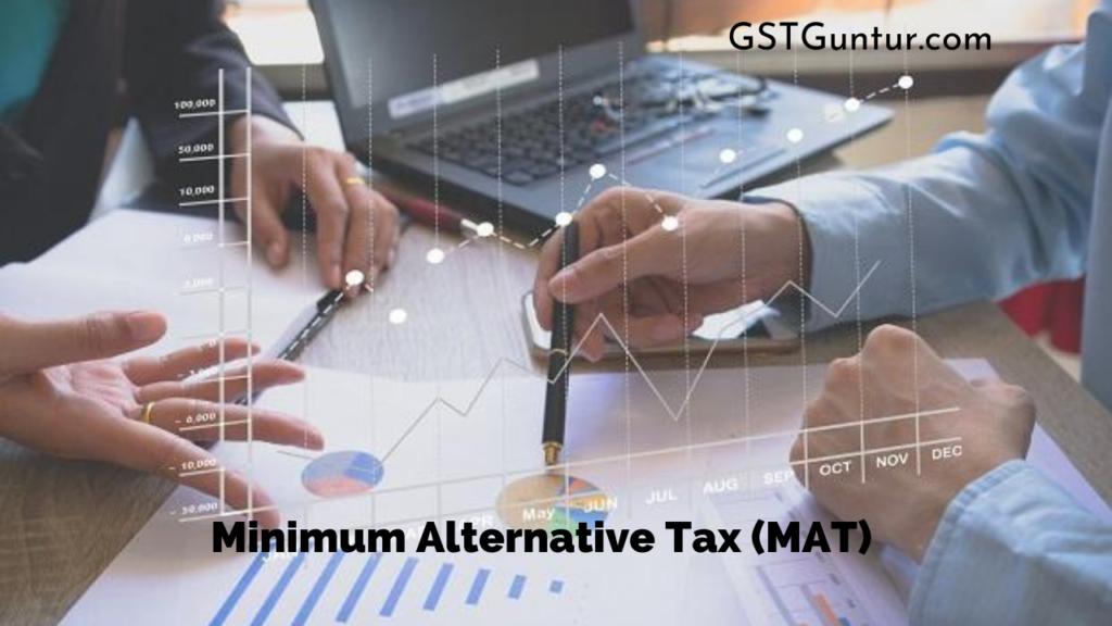 Minimum Alternative Tax