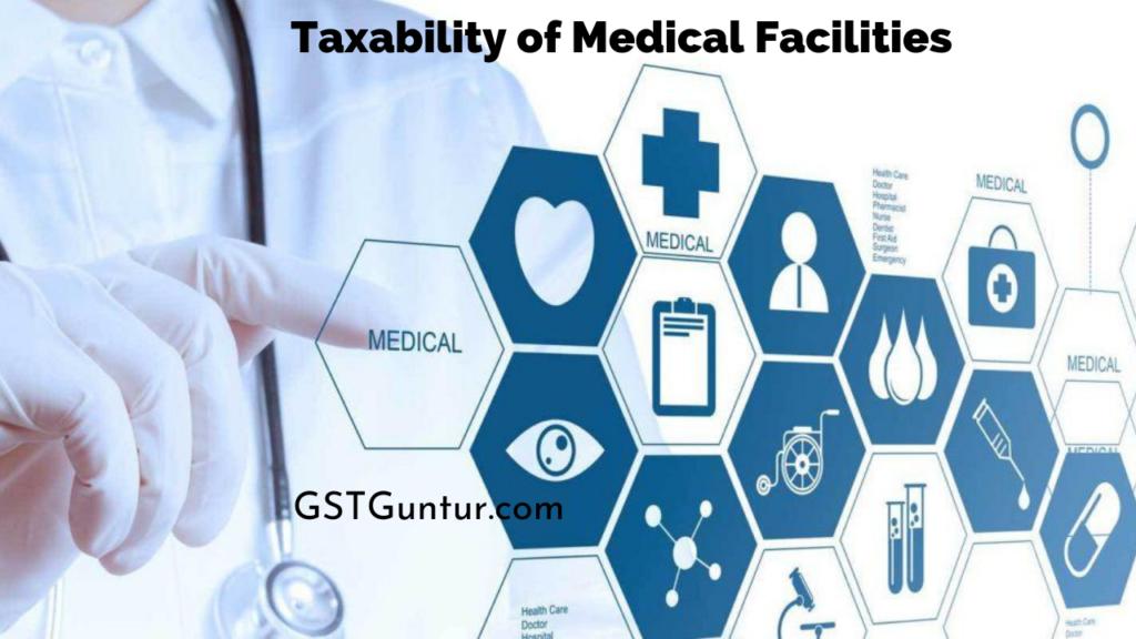 Taxability of Medical Facilities