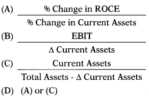 Working Capital Management – Financial and Strategic Management MCQ 3