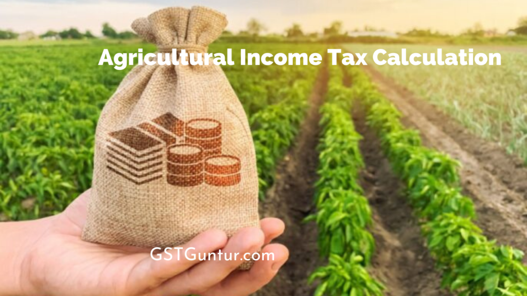 Agricultural Income Tax Calculation