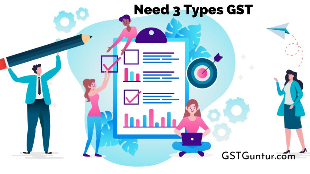Need 3 Types GST