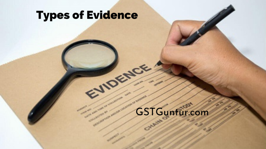 What is an Evidence